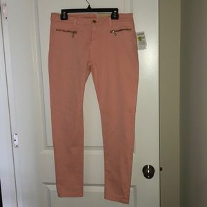 Michael Kors Peach Skinny Jeans